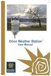 Open Orion User Manual PDF