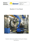 I11 Beamline Manual - Diamond Light Source