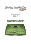 Auto-Installer Deluxe v1.0 Official Users Manual