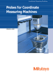 Probes for Coordinate Measuring Machines