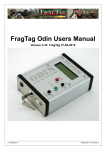 FragTag Odin Users Manual