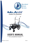 USER`S MANUAL - Specialised Orthotic Services