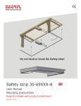 Ropox Safety Stop Strips: User Manual and Mounting Instructions