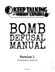 Bomb Manual PDF - Bomb Defusal Manual