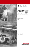 PowerFlex 700 User Manual - Columbia Electric Supply Pasco