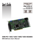 For OME-PCI-1202 Card