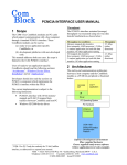 PCMCIA Interface User Manual