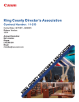 King County Director`s Association
