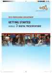 Getting Started Module 3 Digital Presentations