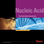 Nucleic Acid - Thermo Scientific