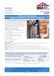Tebway Limited POLYPEARL CAVITY WALL INSULATION