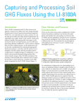 Capturing and Processing Soil GHG Fluxes Using the LI