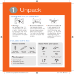 1 Unpack - Appliances Connection