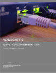 WANSIGHT User Manual & Administrator`s Guide