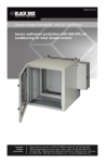 Secure wallmount protection with 800-BTU air
