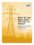 Watt do you know about the cost of watts?