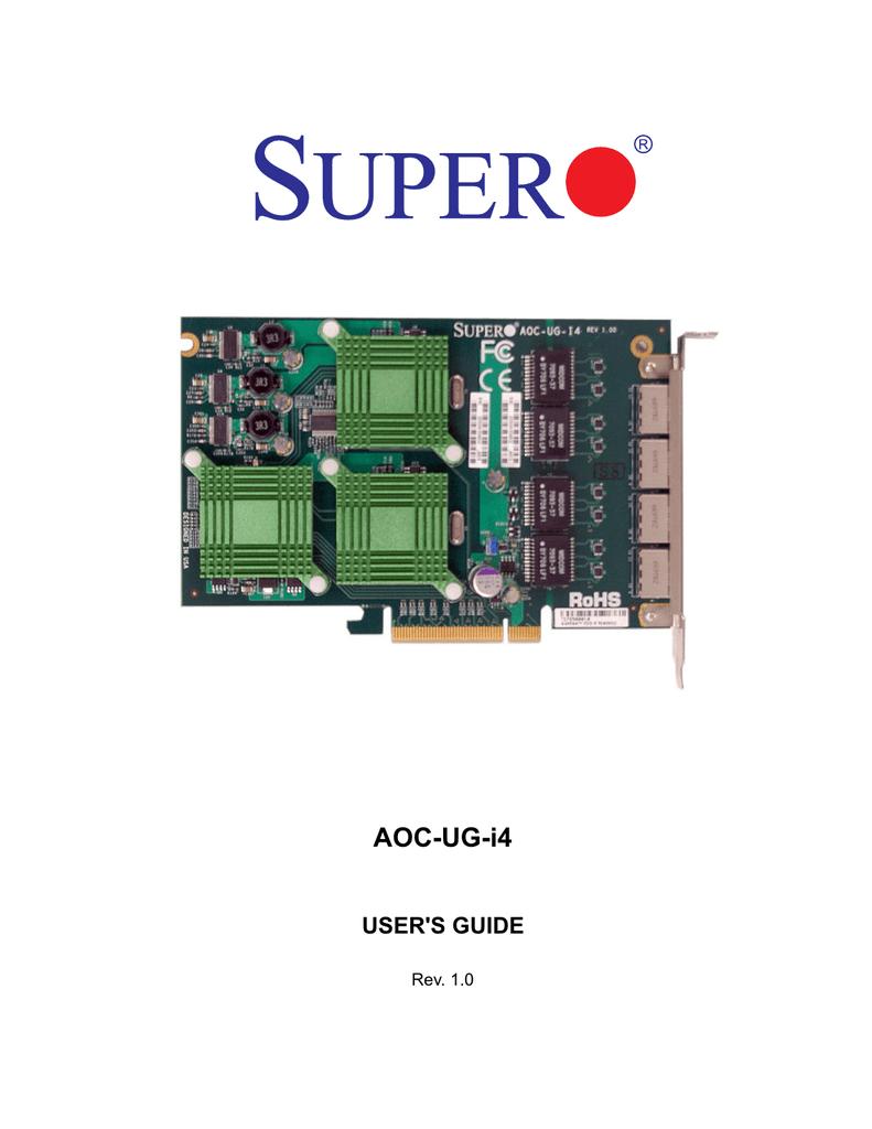 AOC-UG-i4 - Supermicro