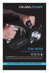 DUALSAW CS300 MANUAL 2-17