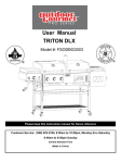 TRITON DLX User Manual - Academy Sports + Outdoors