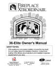 36-Elite Owner`s Manual