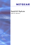 ReadyNAS Replicate User Manual