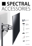 TV wall brackets Page 2–7 Speaker and projector