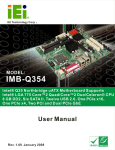 IMB-Q354 ATX Motherboard User Manual