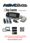 Buddy Step Counter User Guide Read this document if