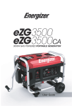 Owner Manual - Energizer Generators