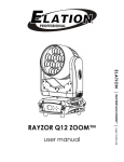 ELATION RAYZOR Q12 ZOOM