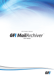 1 Using GFI MailArchiver