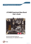 LPC4088 Experiment Base Board - User`s Guide