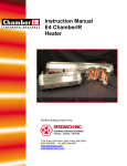 ChamberIR E4 User Manual - Precision Control Systems, Inc.
