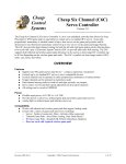 C6C Version 2.0 User Manual