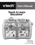 Touch & Learn Storytime - Manual