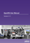 OpenRG User Manual