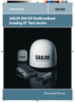 Sailor FB250 Users Manual