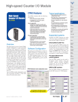 Data Sheet - Lamonde Automation Ltd