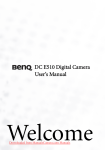 BenQ DC E510 User`s Manual - Downloaded from ManualsCamera