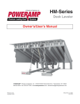 Poweramp HM Manual June2010