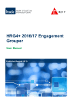 HRG4+ 2016/17 Engagement Grouper