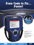 From Code to Fix... Faster! - Genisys Electronic Diagnostic Scan