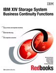 IBM XIV Storage System Business Continuity