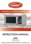 MWE1000 Instruction Manual 1