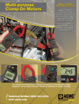 Multi-purpose Clamp-On Meters