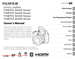 Fujifilm FinePix S4400 Digital Camera User Manual pdf