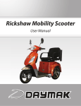 Rickshaw Mobility Scooter