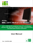 TDM Series LCD Monitor User Manual