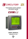 USER`s MANUAL - National Meter Industries