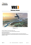 VBS3 Release Notes - Manuals - Bohemia Interactive Simulations